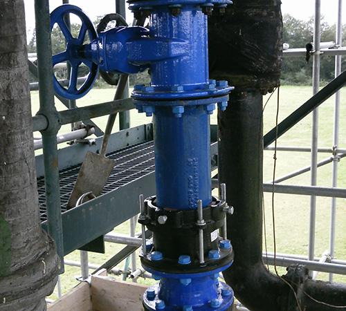 Pipe Valve Installation